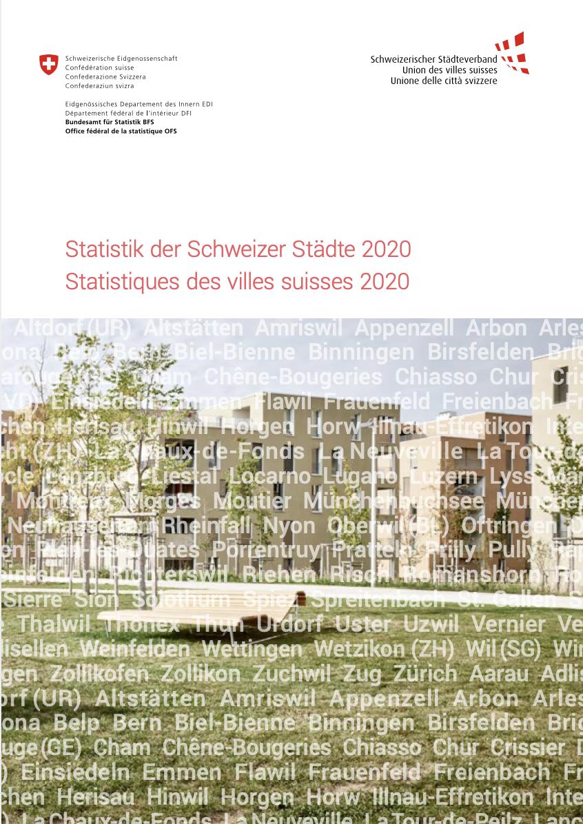 Statistik der Schweizer Städte 2020 A4
